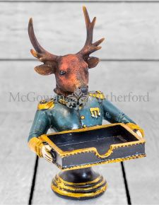 Gentry Stag Card Holder/Sweet Tray