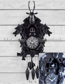 Black Forest Traditional Large Cuckoo Wall Clock