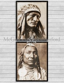 Set of 2 Native American Framed Prints *CLEARANCE ITEM*
