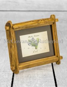 "Reclaimed Pine 4x6"" Photo Frame (Wall Hook & Stand)"