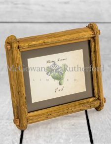 "Reclaimed Pine 5x7"" Photo Frame (Wall Hook & Stand)"