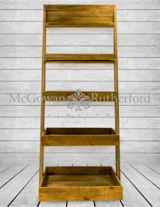 Reclaimed Pine Shelf Unit/Bookcase