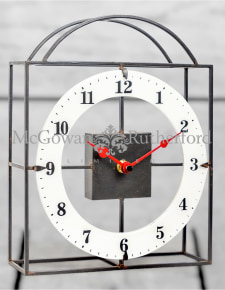 Black and White Dial Table/Wall Clock