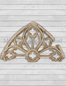 Large Gothic Arch Wall Decor