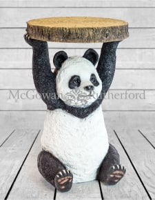 "Panda Holding ""Trunk Slice"" Side Table"