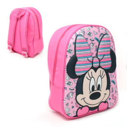 3D EVA Shaped Front Backpack Minnie