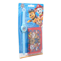 Watch Wallet set on Blister Paw Patrol