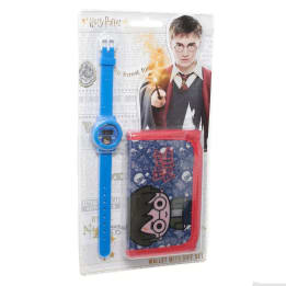 Watch Wallet set on Blister Harry Potter