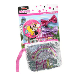 Sequin Purse hair accessories set Minnie