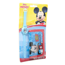 Watch Wallet set on Blister Mickey