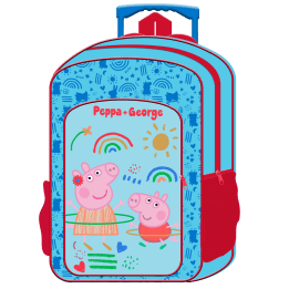Deluxe Large Trolley Backpack Peppa Pig