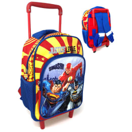 Deluxe 33cm Trolley Backpack Justice League
