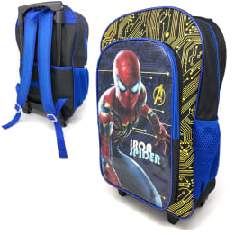 Deluxe 41cm Trolley Backpack Iron Spider