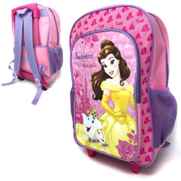 Deluxe 41cm Trolley Backpack Mrs Potts/Chip and Belle