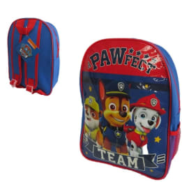 Backpack Paw Patrol with mesh side pocket
