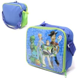 Lunch Bag Toy Story with mesh side pocket and shoulder strap