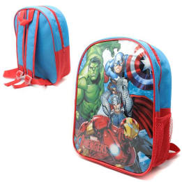 Backpack Avengers With Side Mesh Pocket