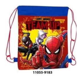Pull String Shoe Bag Spiderman