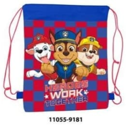 Pull String Shoe Bag Paw Patrol