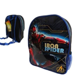 Backpack Iron-Spiderman with Side pocket