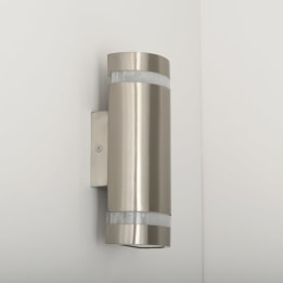 Coro LED Round Up and Down Wall Light