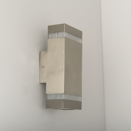 Coro LED Square Up and Down Wall Light