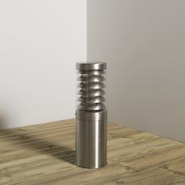 Titano 450mm E27 Bollard Stainless Steel