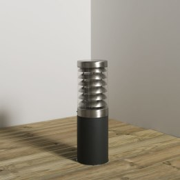 Titano 450mm 18W PLC Low Energy Bollard Anthracite