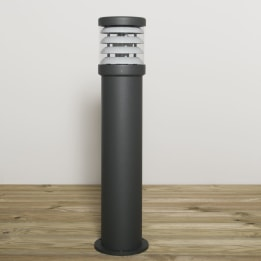 Polo 670mm 18W PLC Low Energy Bollard Anthracite