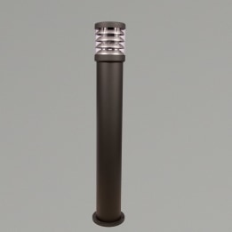 Polo 920mm 18W PLC Low Energy Bollard Anthracite