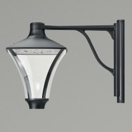 Morphis I 24W 3000K LED Downward Wall Lantern Anthracite
