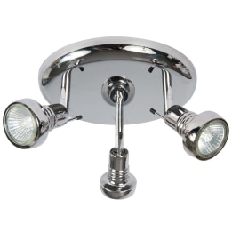 Tory II Triple Plate Spotlight Chrome