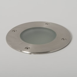 Fuente II IP65 GX53 Low Energy Stainless Steel Round Recessed Ground Light