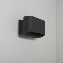 Orsay 9W LED Down Wall Light Anthracite