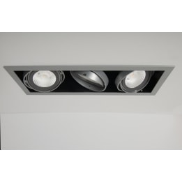 Chieti AR111 Triple Light Box with 3x 24W 60° LED Non-Dimmable Lamps