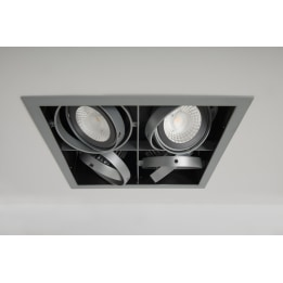 Chieti AR111 Quad Light Box with 4x 24W 60° LED Non-Dimmable Lamps