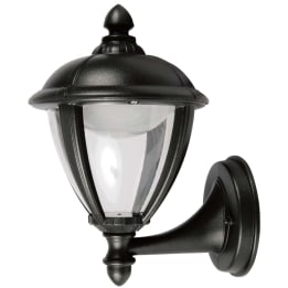 Coria LED Upward Wall Lantern Black