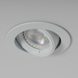 GU10 Twist & Lock Tiltable Downlight White