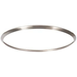 Satin Chrome Rim for Premia Medium Surface Fitting