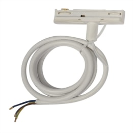 Escala Track Adaptor complete with 1 Metre Cable White