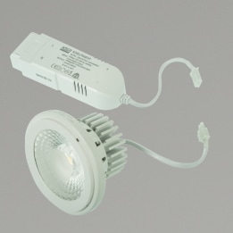15W AR111 LED 4000K 60° Non-Dimmable LampWhite Complete with Driver