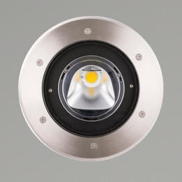 Mira 220 20W 3000K LED Groundlight with 60° Beam and 20° Asymetric Lens