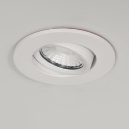 3 Hour Emergency Fire Rated 10W 3000K LED Tiltable Dimmable Downlight