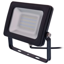 Siena 20W 6000K LED Floodlight Black