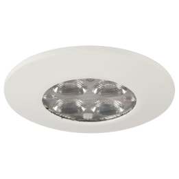 Fire Rated 7.5W 5000K LED Non-Dimmable Downlight White