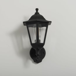 Bastia 6 Sided E27 Upward Lantern with PIR Sensor
