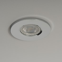 Qr Pro WiZ GU10 2700K LED Downlight Chrome