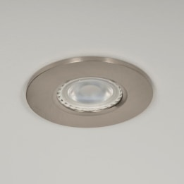 Qr Pro WiZ GU10 2700K LED Downlight Satin Chrome