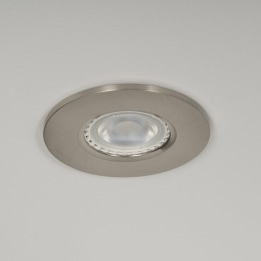 Qr Pro WiZ GU10 4000K LED Downlight Satin Chrome