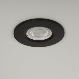 Qr Pro WiZ GU10 RGB + CCT LED Downlight Black